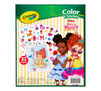 Color & Sticker Book, Fancy Nancy Back View