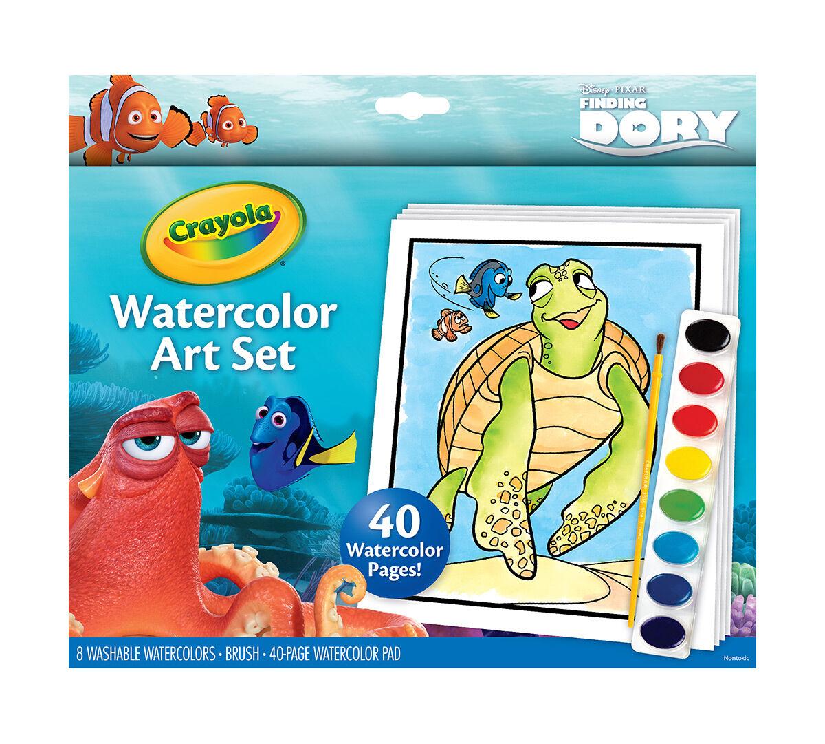 Watercolor Set, Finding Dory - Crayola