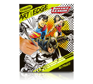 Art with Edge, Justice League Collection Front View