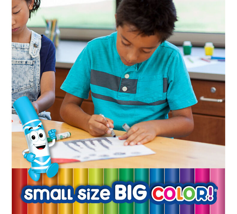 Pip-Squeaks Skinnies Washable Markers, 64 Count