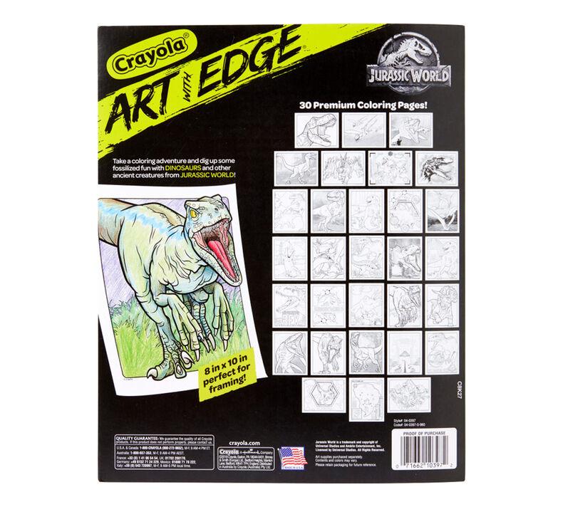 04 0397 0 960 Art Wit Edge Jurassic World B1