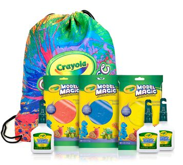 Model Magic Butter Slime Kit with Bonus Bag front view of included products