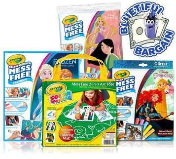 Color Wonder Disney Princess Value Set Front View