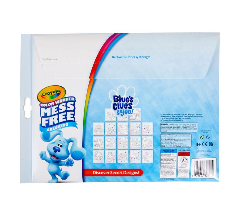 Color Wonder Mess Free Blue's Clues Coloring Set