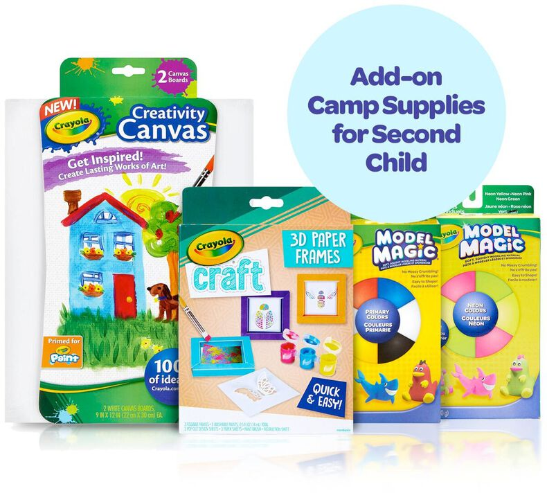 Camp Craft Box Supply Kit for Second Child