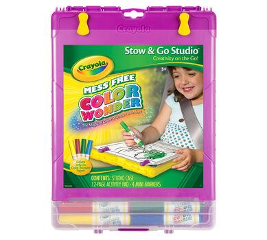 Color Wonder Stow & Go Studio