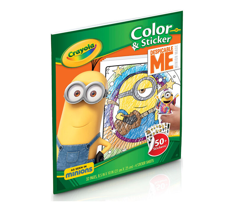Color & Sticker, Despicable Me