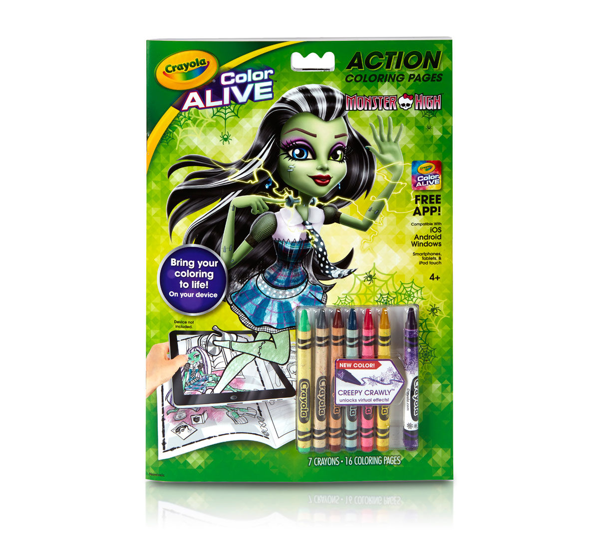 Printable color alive pages - Color Alive Monster High