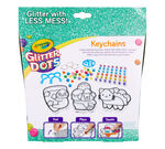 Glitter Dots DIY Keychains Front View of Box