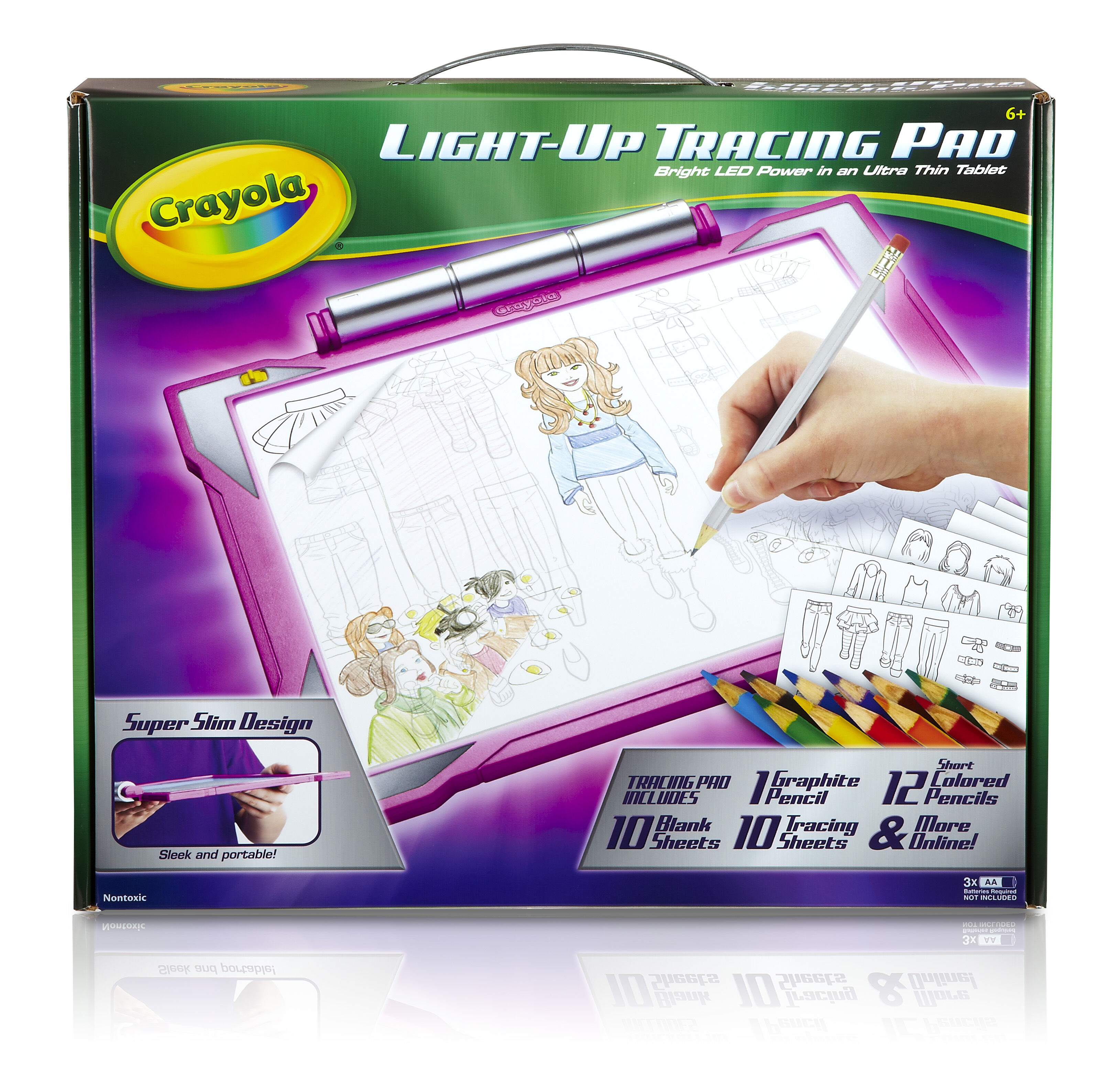Light Up Tracing Pad   Choose Your Color