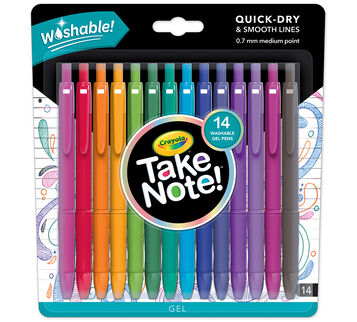 Take Note! Washable Gel Pens 14 ct.