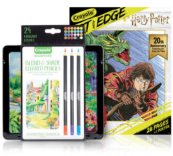 Harry Potter Coloring Set