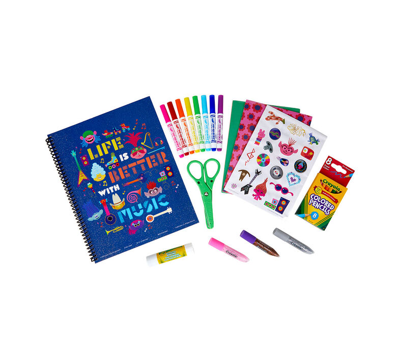 Trolls World Tour Scrapbook Kit