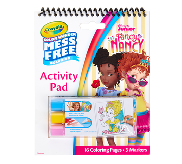 Color Wonder Mess Free Fancy Nancy Activity Pad Front View