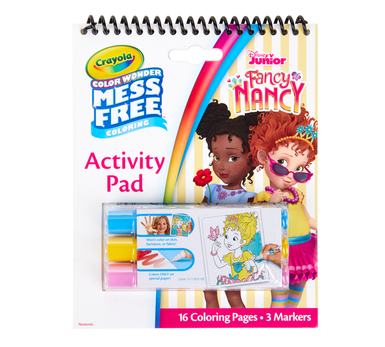 Color Wonder Mess Free Fancy Nancy Activity Pad