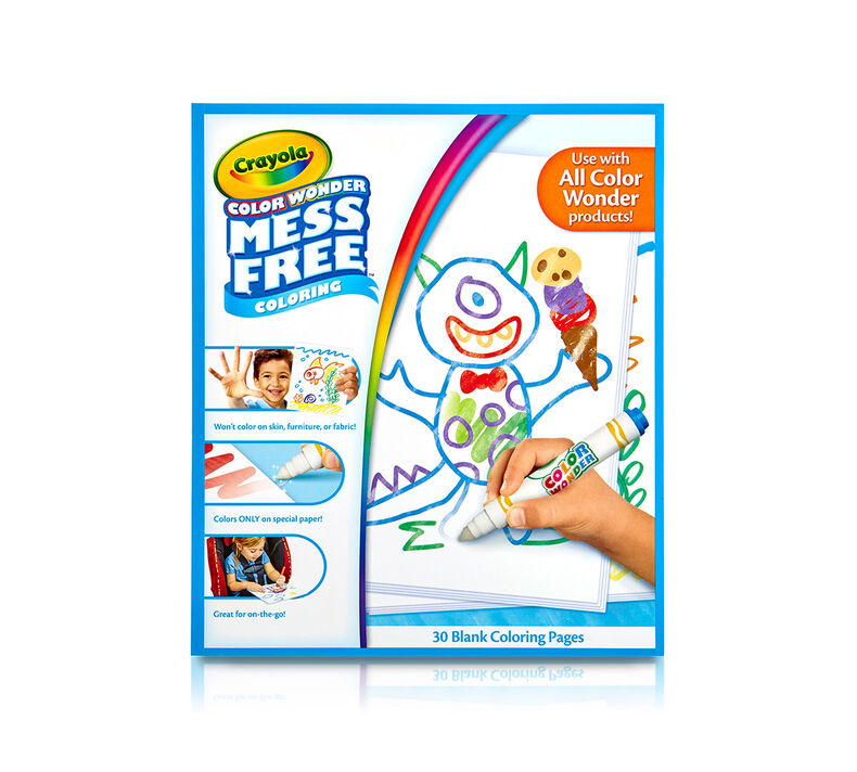Color Wonder Mess Free Blank Paper