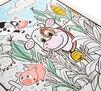 Nursery Rhymes Coloring Book in use