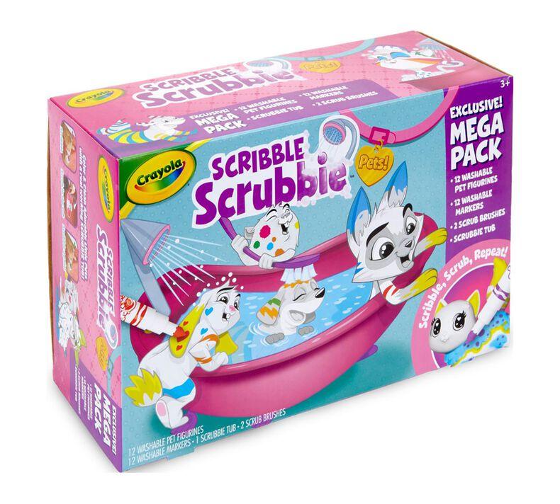 Scribble Scrubbie Pets Mega Tub Playset