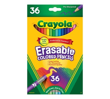 36ct Erasable Colored Pencils