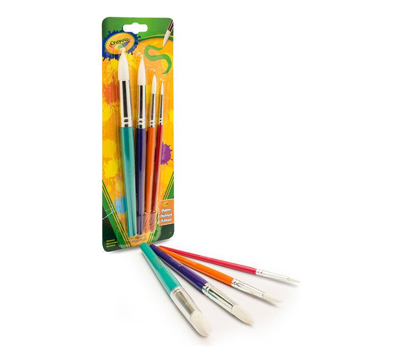 4 ct. Round Brush Set