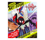 Art With Edge Marvel Spiderverse Coloring Book Front View of Book