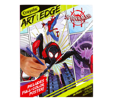 Art with Edge Spider-Verse Coloring Book