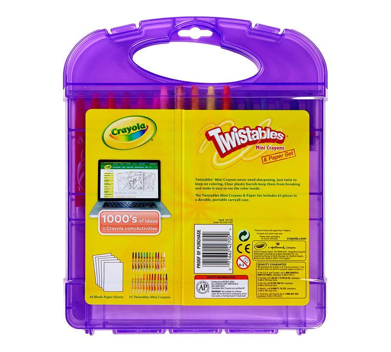 Hardcase Kit - Twistables Mini Crayons