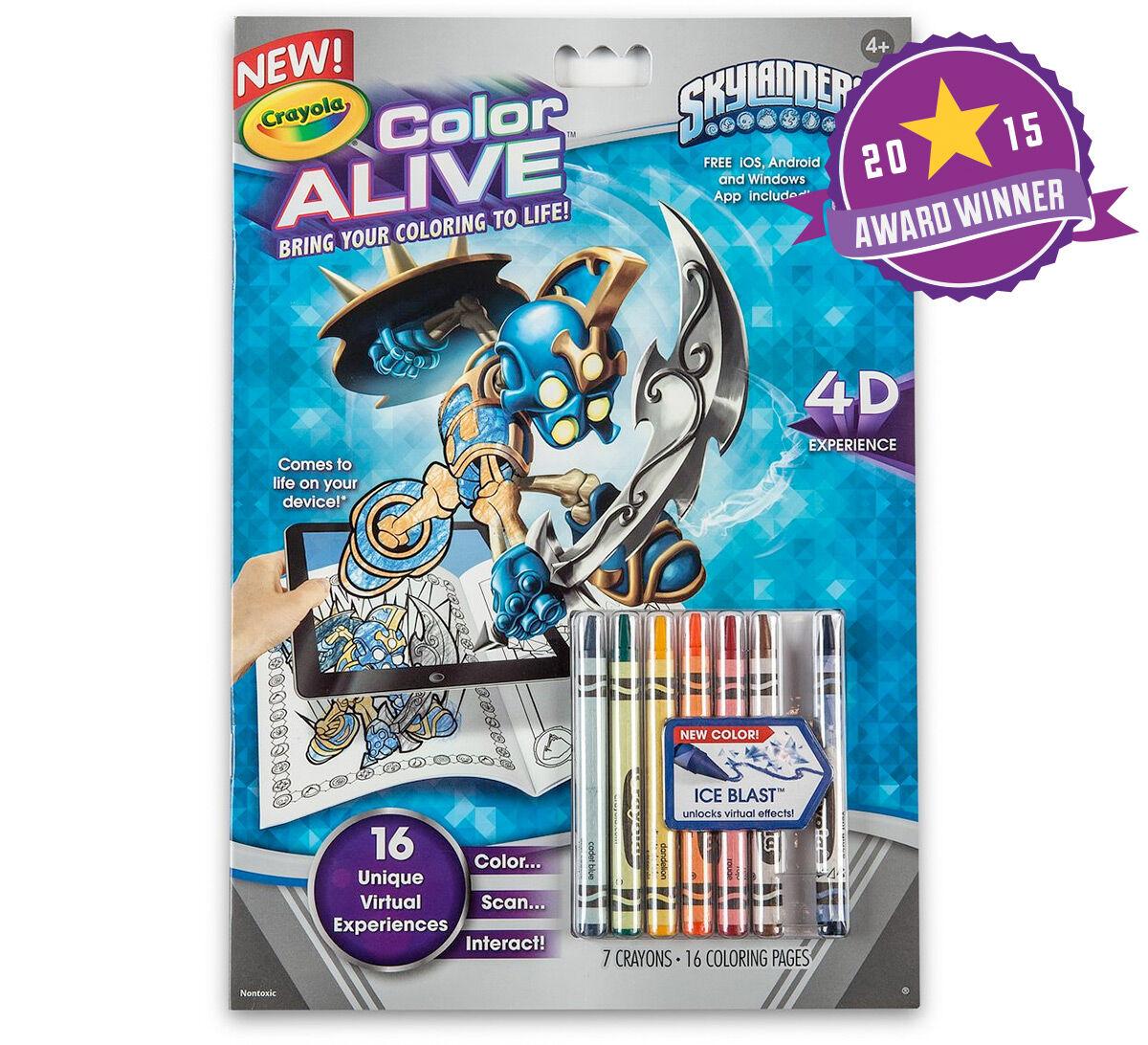 color alive skylanders crayola