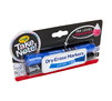Low Odor Dry Erase Markers, Chisel Tip, 2 Count Left Angle