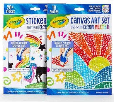 Crayon Melter Art Set Bundle