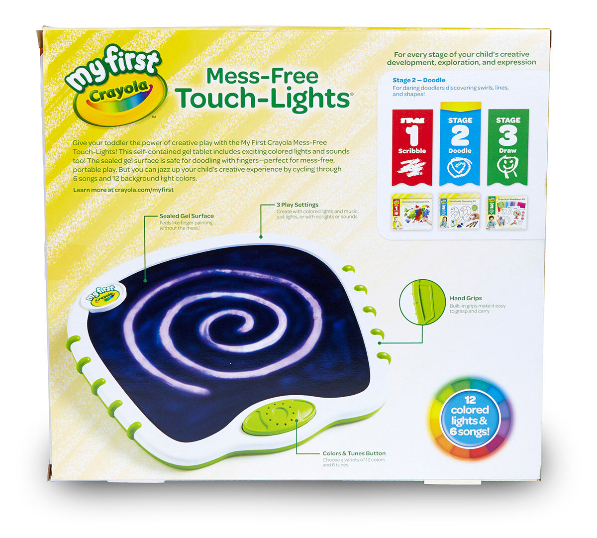 Crayola; My First Crayola; Touch Lights; Art Tools; Electronic ...