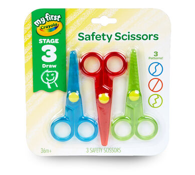 My First Crayola Safety Scissors 3 count