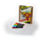Art With Edge Coloring Set Vanishing Numbers front of package