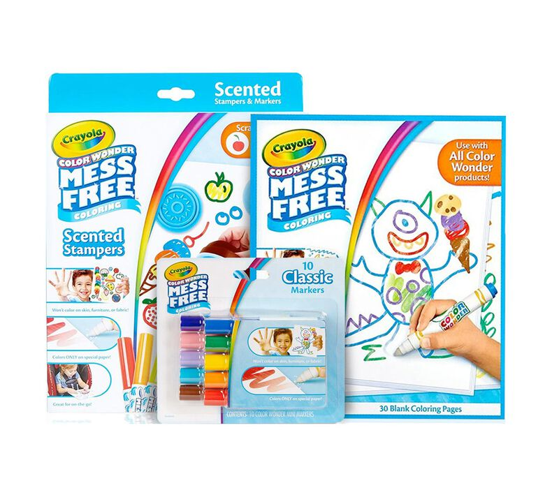 Color Wonder Scented Light Up Stamper Refill Kit