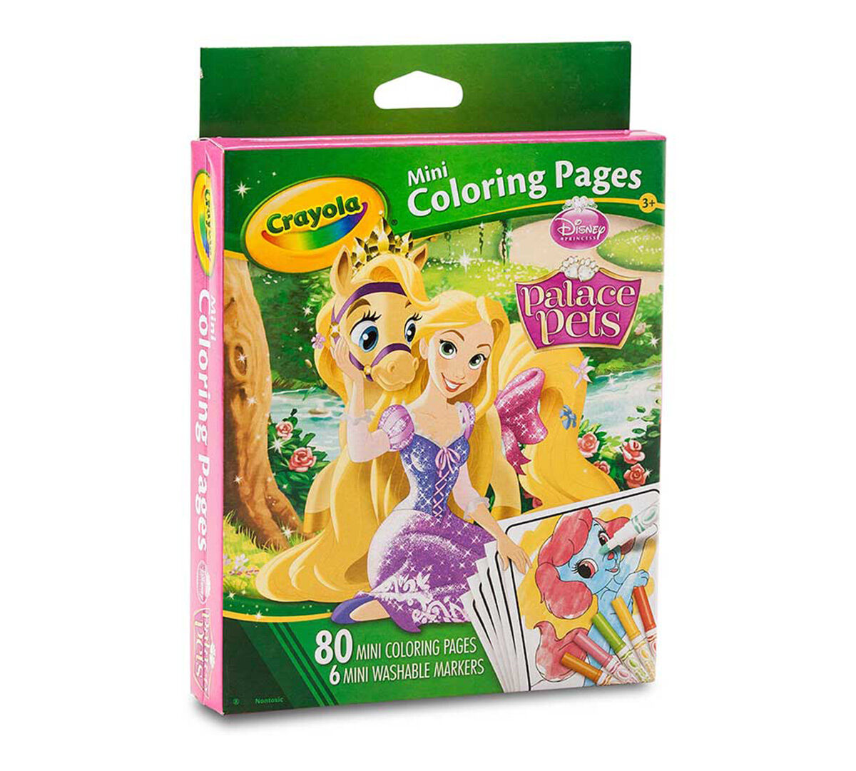 Crayola Coloring Pages Princess : Mini coloring pages disney princess palace pets crayola
