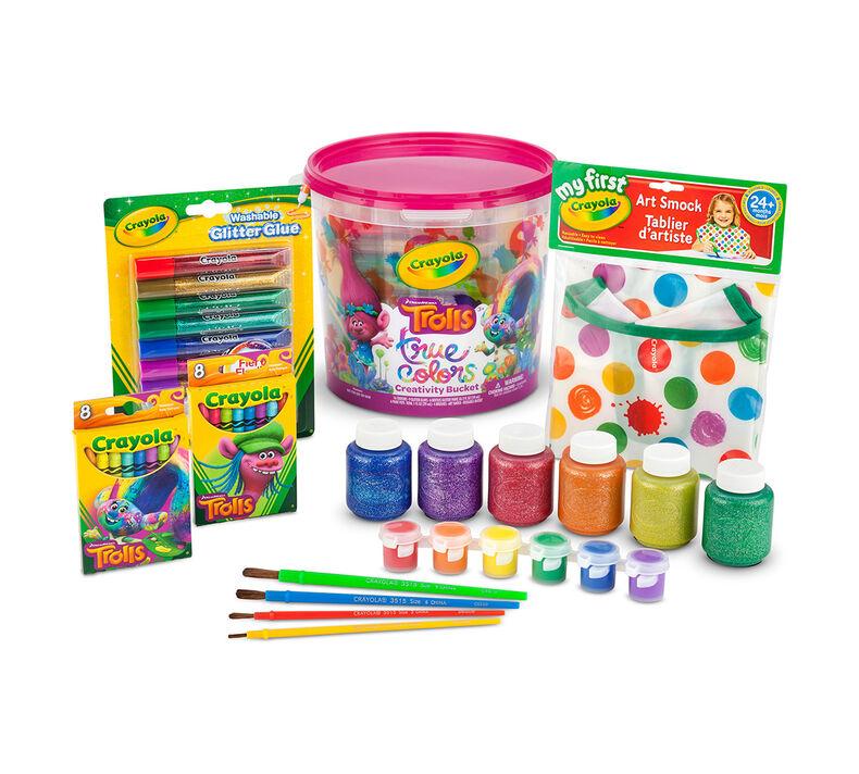 Trolls True Colors Creativity Bucket