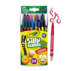Silly Scents 24ct Twistable Crayons