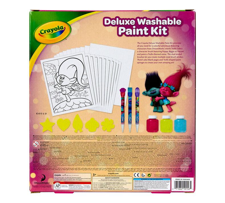 Trolls Deluxe Washable Paint Kit