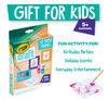 Crayola 3D Paper Frames Craft Kit are a great gift for kids 5+ and are a fun activity for birthday parties, holiday events, and everyday entertainment.