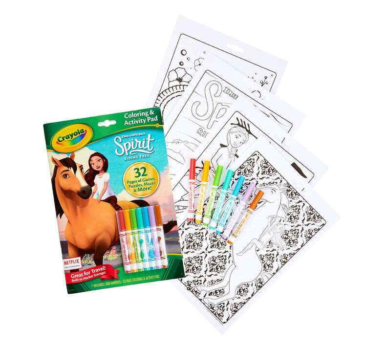 Spirit Color & Activity Set