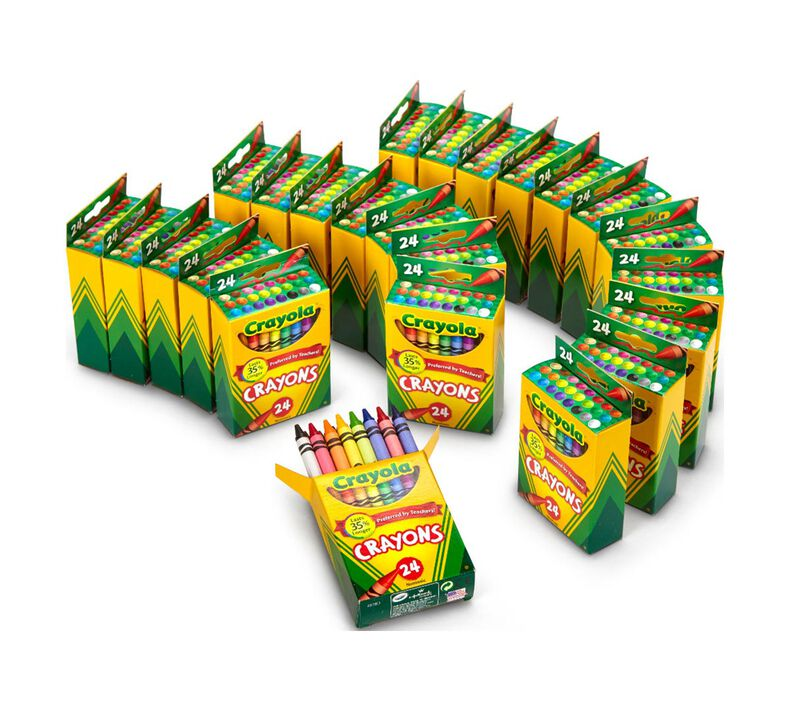 24 Box Classpack of 24 Count Crayons