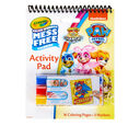 Color Wonder Mess Free Paw Patrol Coloring & Activity Pad Front View