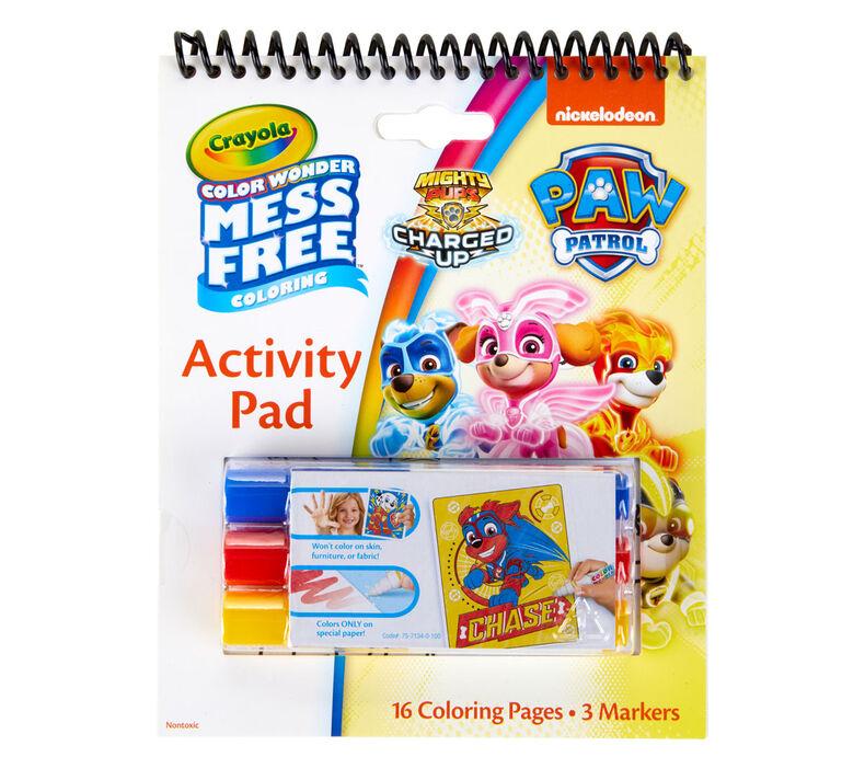 Color Wonder Mess Free Paw Patrol Coloring & Activity Pad