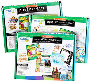 3-in-1 creatED Create-to-Learn Activity Kits, Grades PreK-2