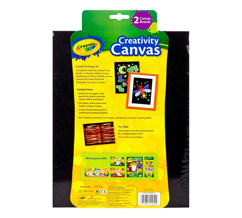 Crayola Creativity Canvas, Black