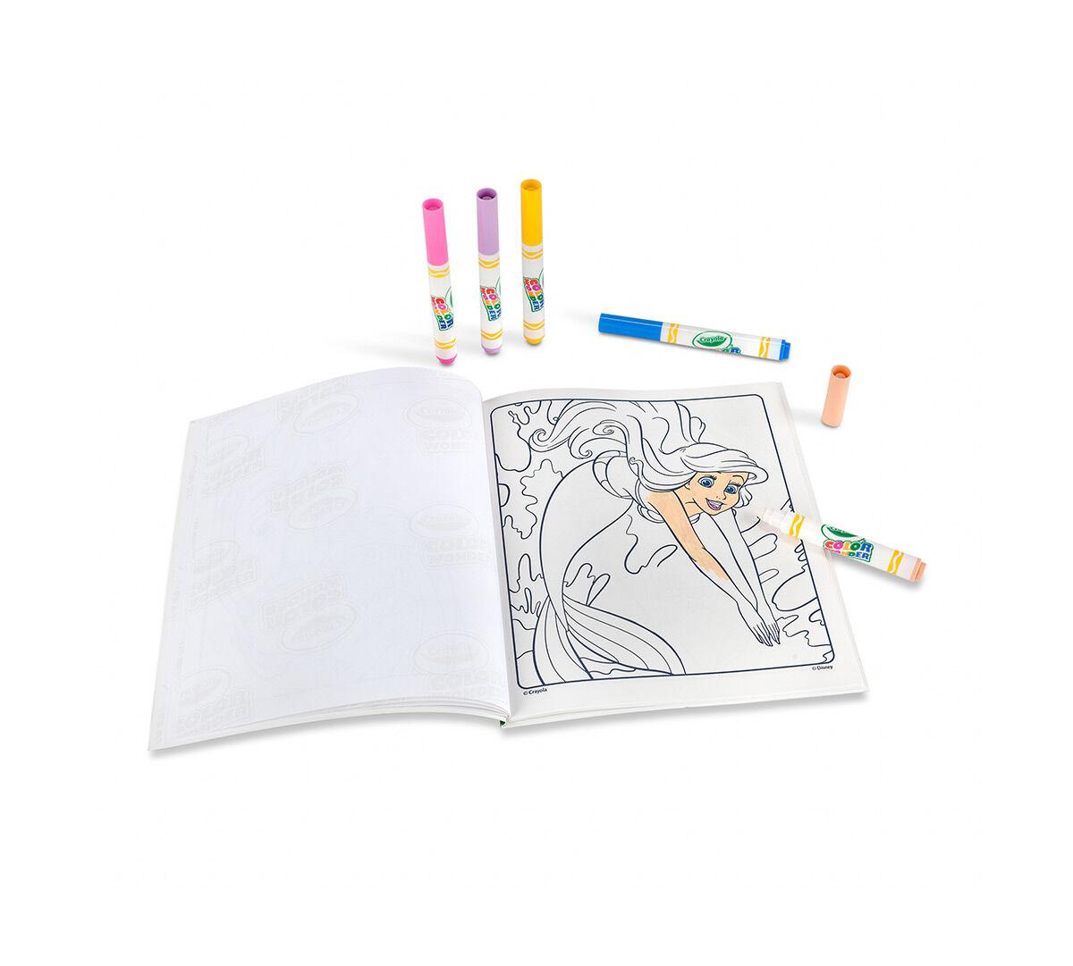 Color Wonder Coloring Pad & Markers - Disney Princess - Crayola