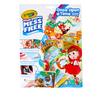 Color Wonder Mess Free Fairytales Coloring Set Front View