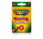 Crayons, 8 Count Front View