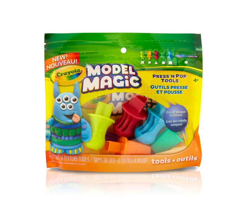 Model Magic Press 'n Pop Texture Tools