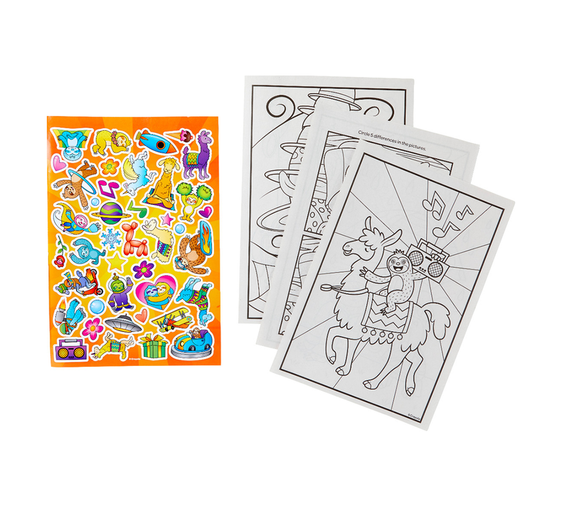 Animal Coloring Books, Set of 4